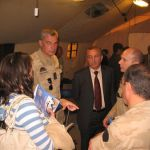 """BLBC delegation visiting UN Belufil 2 base in Tibnin (S. Lebanon)"""