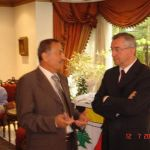 """Reception of Managing Director of the Lebanese Ministry of Immigration, H.E Dr. Haitham Jomaa"""